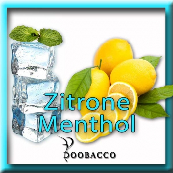 Doobacco Specialities No. 1 Zitrone-Menthol Aroma 20ml *SALE*